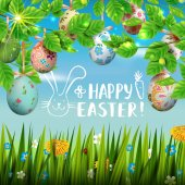 Happy easter-card