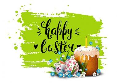 Festive Template Easter card