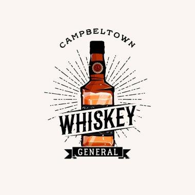 Whiskey logotype vintage