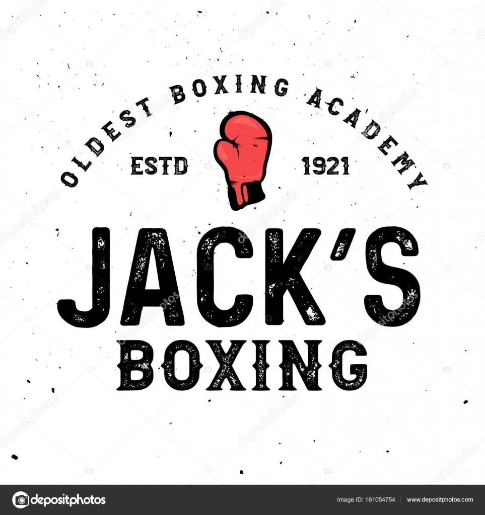 Boxen-unter dem Motto Retro-Logo-Vorlagen im Vintage-Stil mit Grunge ...
