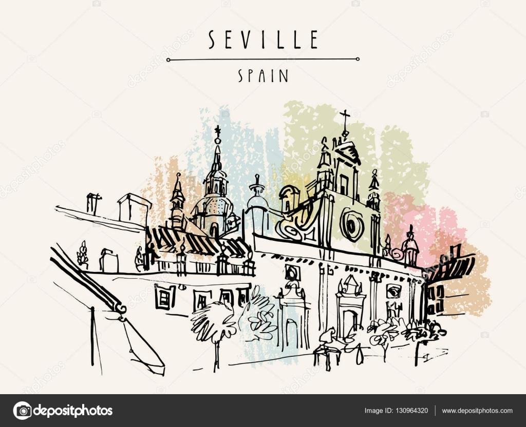 Iglesia del Salvador en Sevilla, España — Archivo Imágenes ...