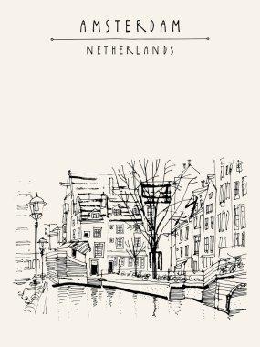 Amsterdam city center, Holland