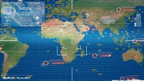Mundo mapa alta tecnologa anlisis vdeo de stock mundo mapa alta tecnologa anlisis vdeo de stock gumiabroncs Image collections