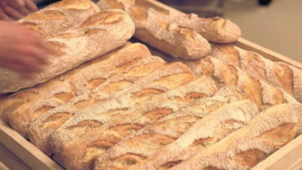 francouzský chléb z trouby