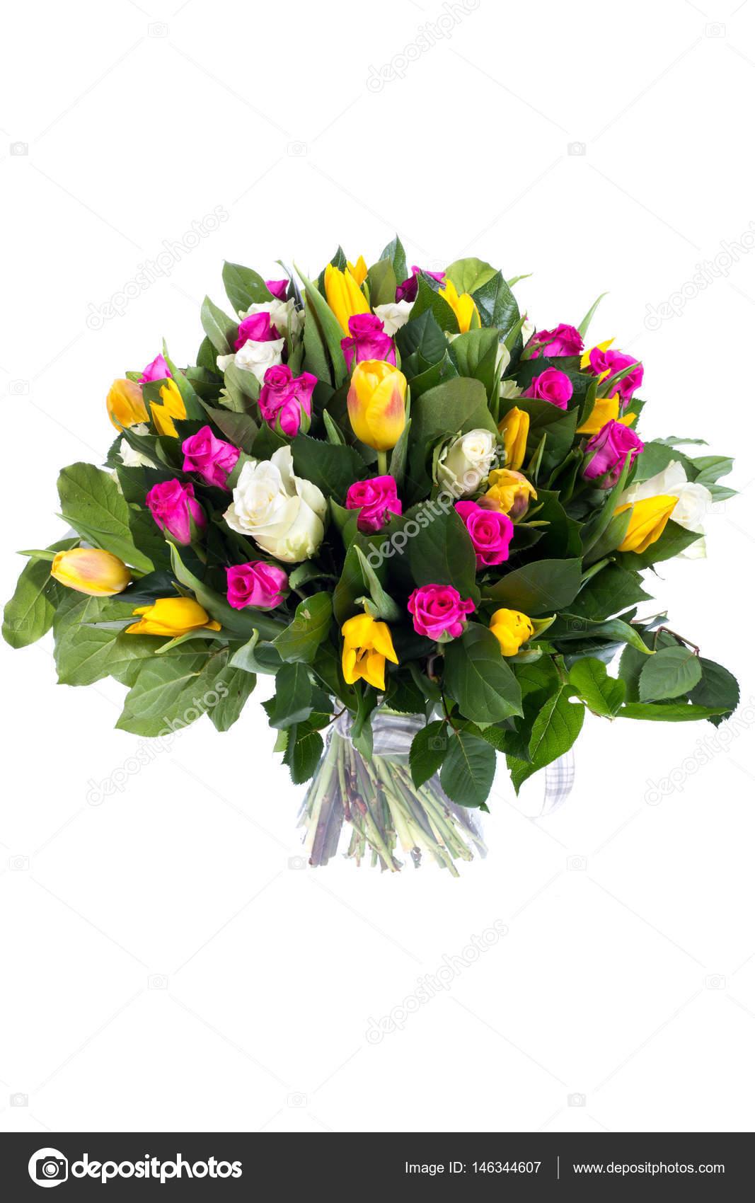Güzel Bir Buket çiçek Stok Foto Pechatnik1506 146344607