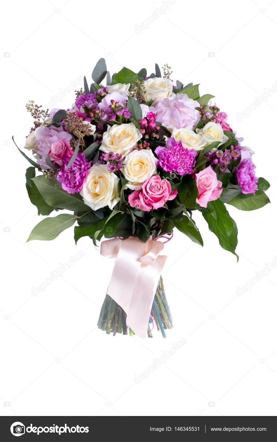 beautiful bouquet of flowers — Stock Photo © pechatnik1506 #146345531