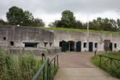A old Dutch fort in the Netherlands.