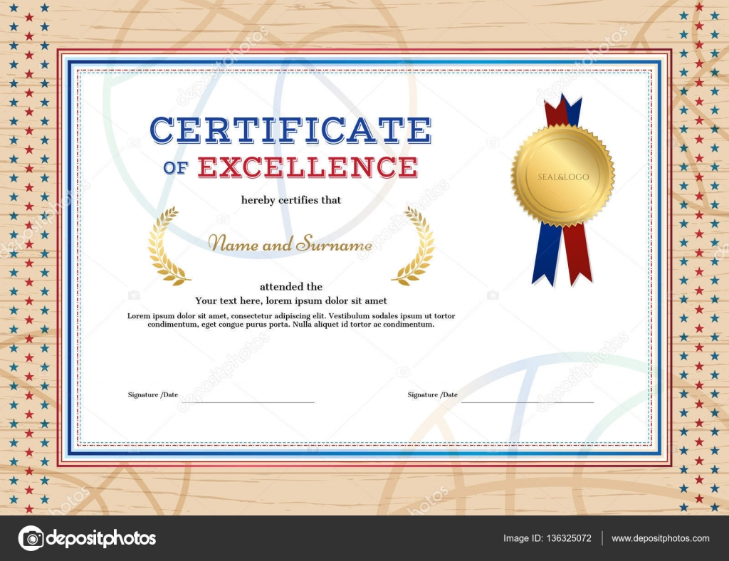 Zertifikat für Exzellenz Vorlage in Sport Thema Basketball ...