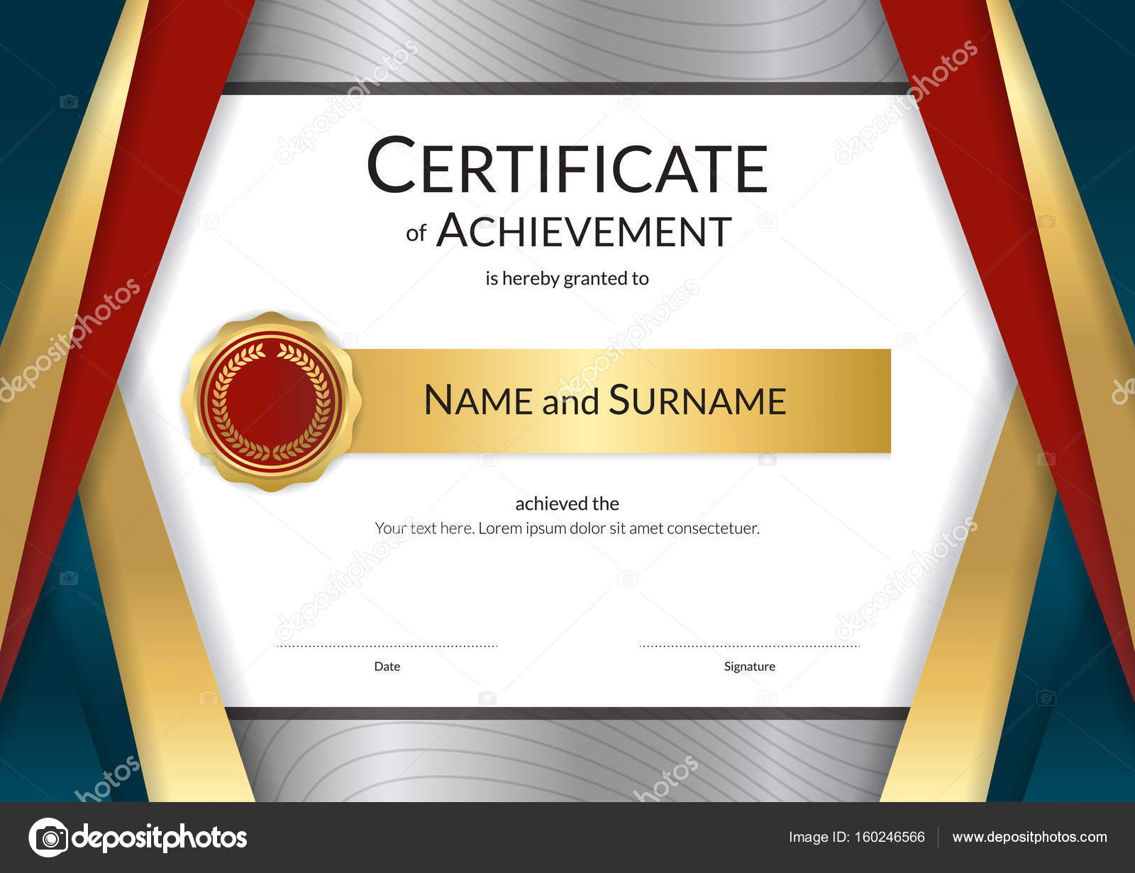 Luxury certificate template with elegant border frame diploma d luxury certificate template with elegant border frame diploma d stock vector 160246566 yelopaper Choice Image