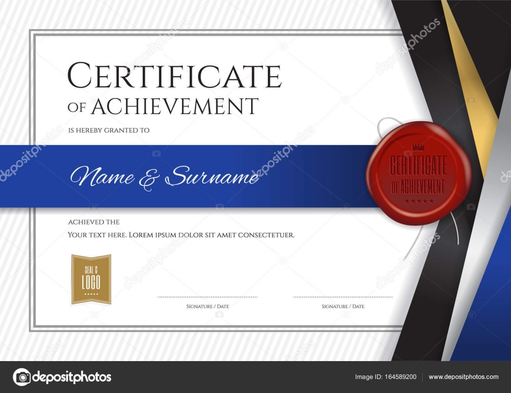 Luxury certificate template with elegant border frame diploma d luxury certificate template with elegant border frame diploma d stock vector 164589200 yelopaper Choice Image