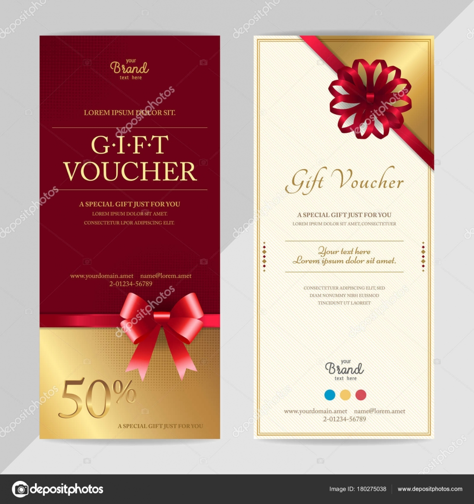 Gift voucher template 6545 certificate sample receipts of payment gift voucher format templates for report writing free rent receipt depositphotos 180275038 stock illustration gift certificate yadclub Gallery