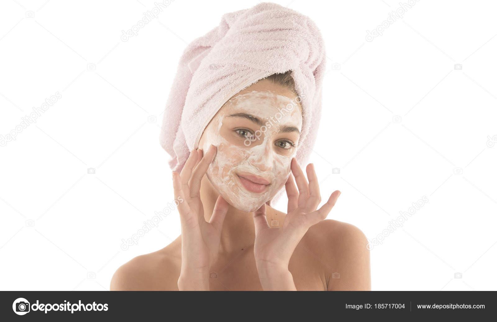 masque facial femme
