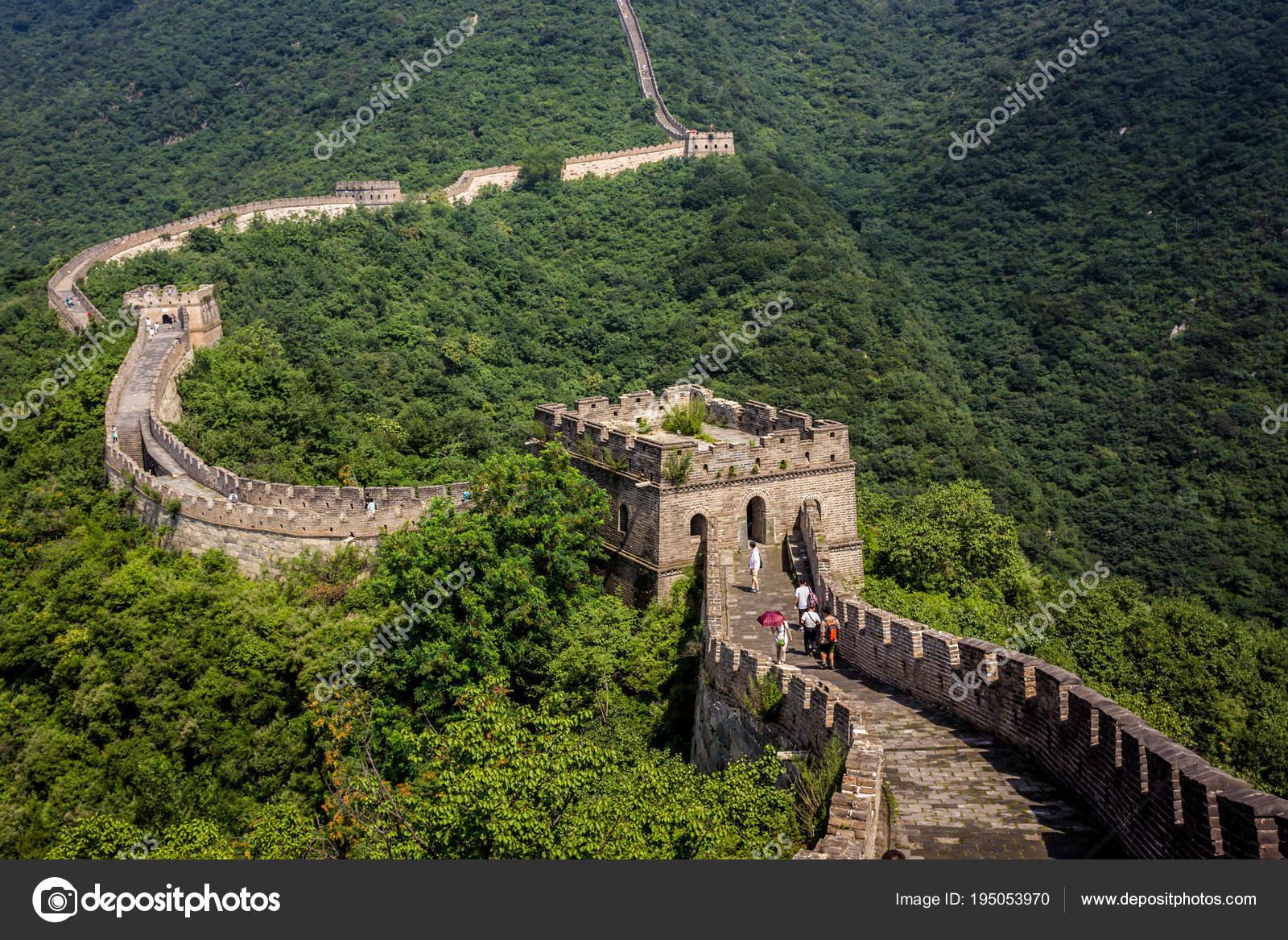 Grote Foto Op Muur.Chinese Grote Muur Redactionele Stockfoto C Xander D 195053970