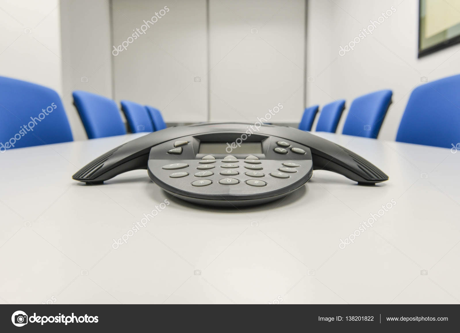 Ip Conference Phone The The Meeting Room Stock Photo C Magneticmcc