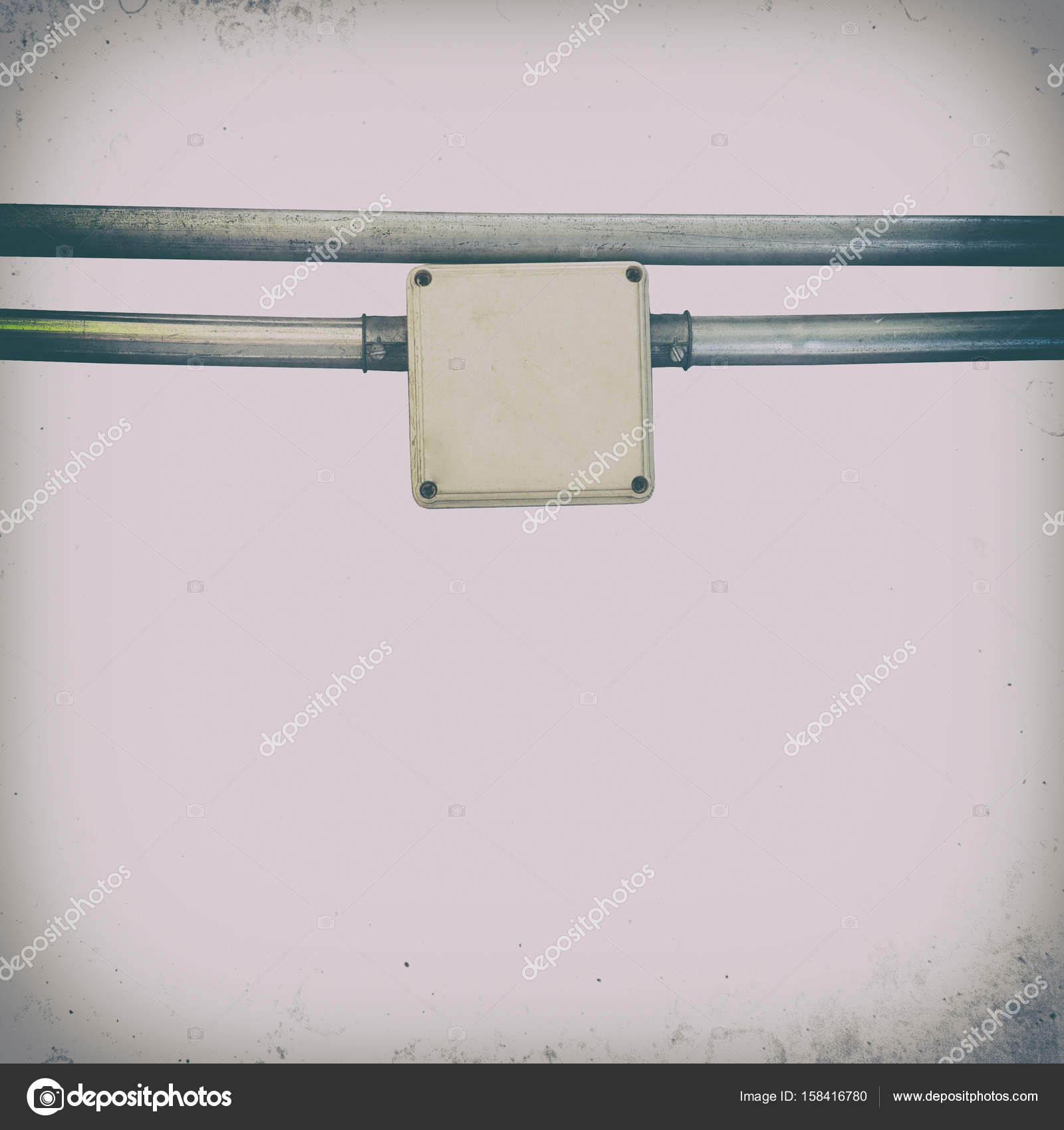 Elektrischer Draht-box — Stockfoto © oatintro #158416780