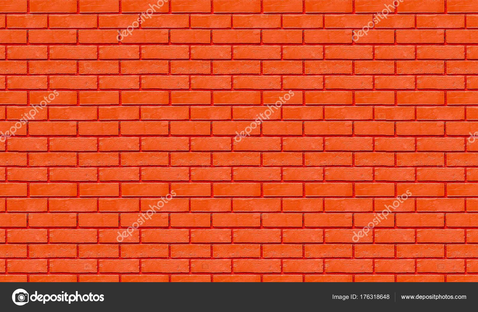 Mur De Briques Couleur Rouge Pour Le Fond Photographie Oatintro