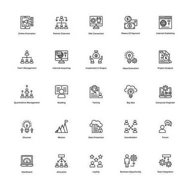 Here is a useful Business and Finance Vector Icons pack. Hope you can find a great use for them in finance, money, banking, and statistics visuals. icon