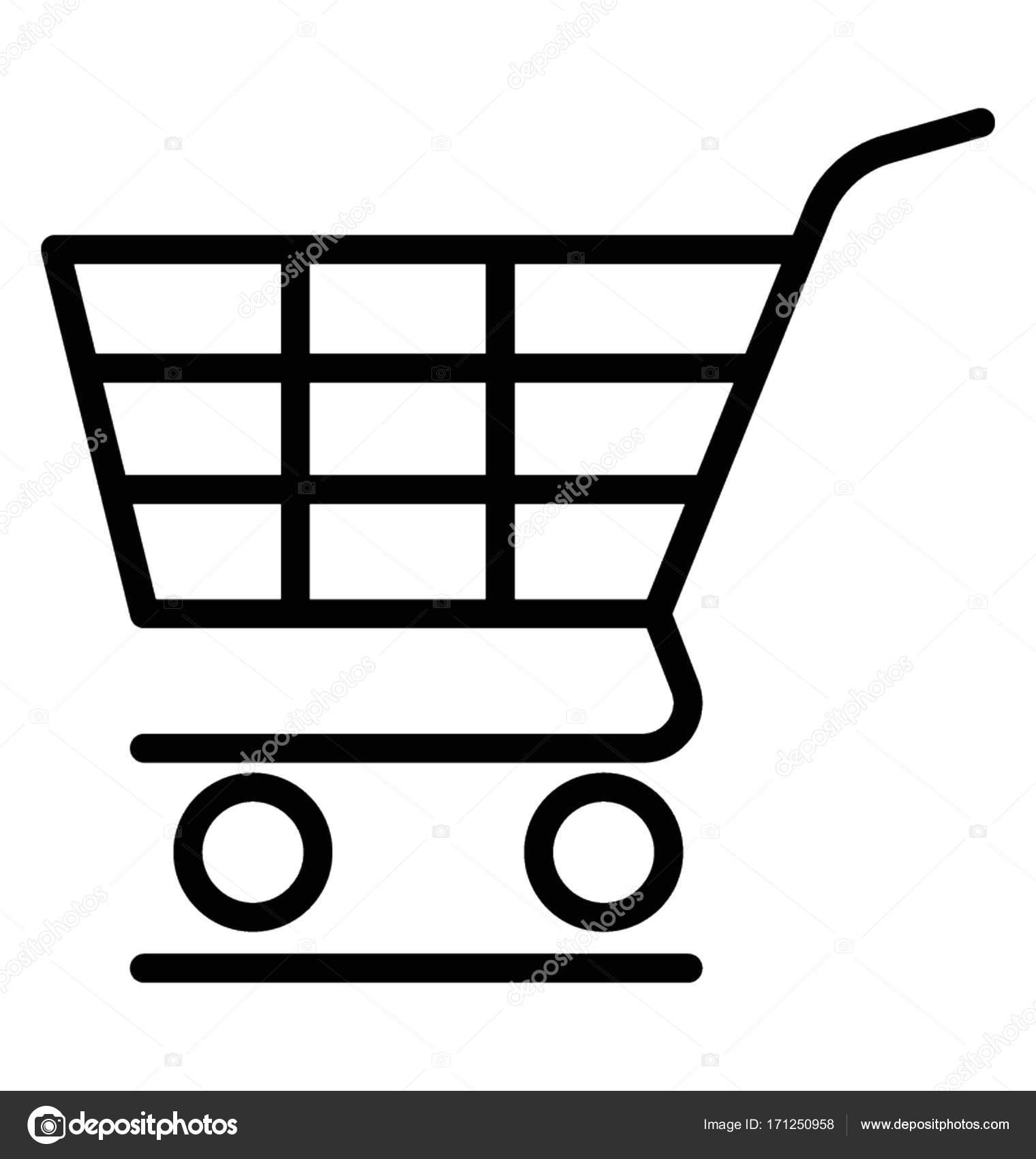shopping cart vector icon stock vector vectorsmarket 171250958 rh depositphotos com shopping cart vector icon shopping cart vector icon