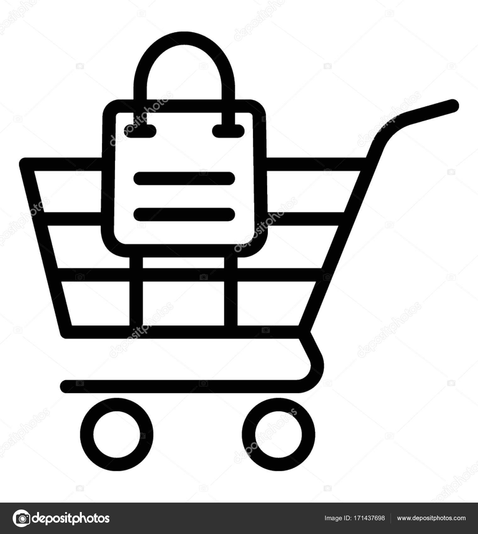 shopping cart vector icon stock vector vectorsmarket 171437698 rh depositphotos com shopping cart vector art shopping cart vector png