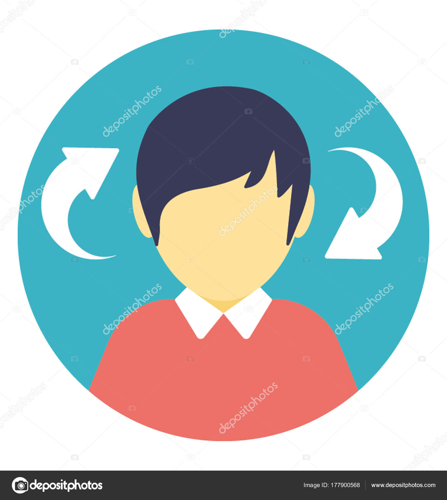 männliches Profilbild
