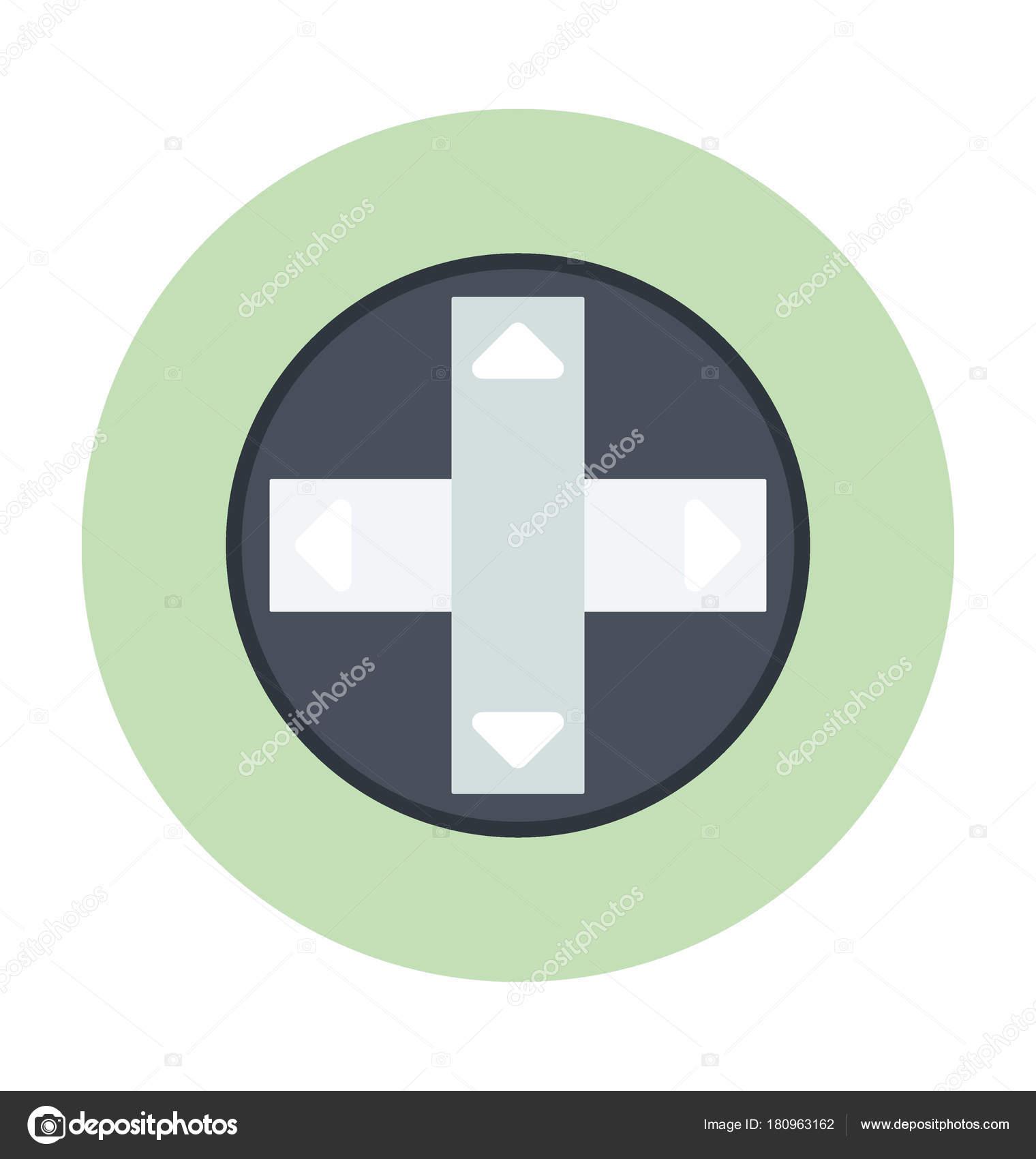 remote buttons colored vector icon stock vector vectorsmarket
