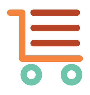 Cargo Trolley Bold Vector  Icon