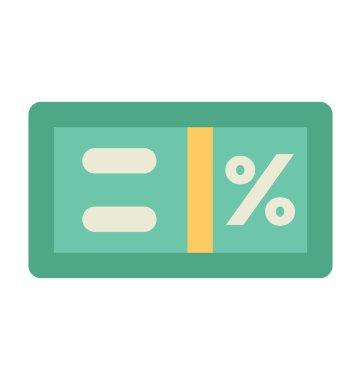 Math Symbol Flat Vector Icon
