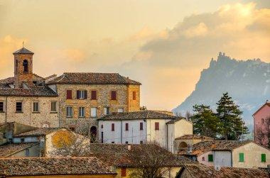Town of Verucchio - Rimini italian village landscape emilia romagna