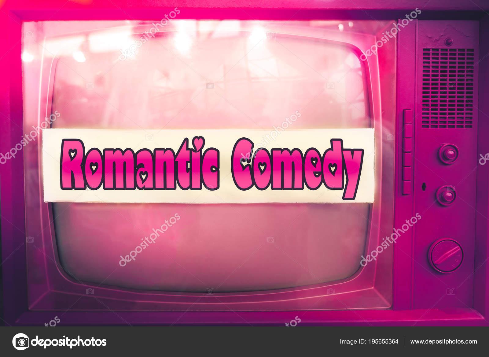 Romantische Komödie Rosa Tv Film Genre Lila Fernsehen Label Alte Tv