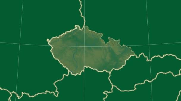 Česká republika a okolí. Fyzické