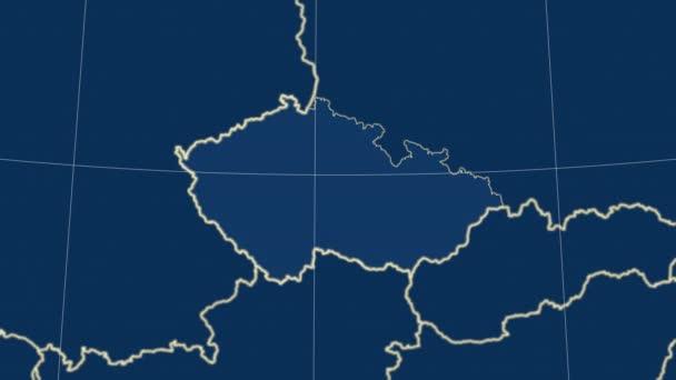 Česká republika a okolí. Tuhé látky