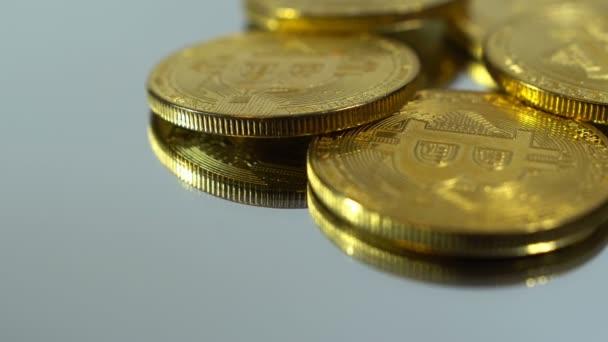 zlaté mince bitcoin strmé plán, rotace bitcoinů