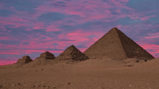Starověké egyptské pyramidy, symbolem Egypta
