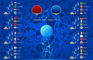 Match template, vector illustration