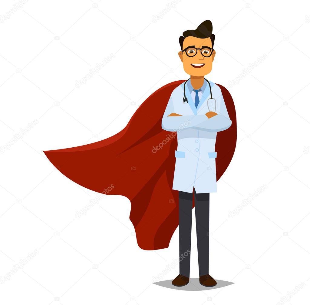 картинка летящего доктора