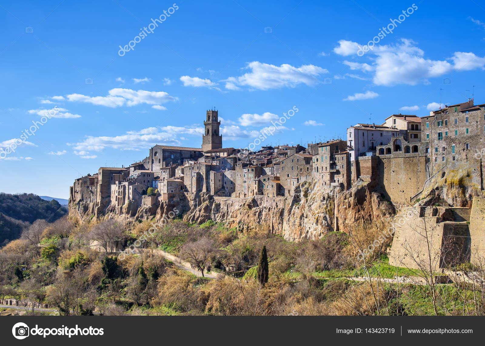 トスカーナ州、イタリアの中世の...