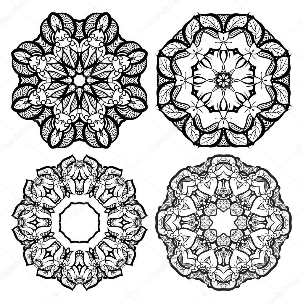 Dibujos Plantillas Mandalas Para Tatuajes Colección De Mandala Y