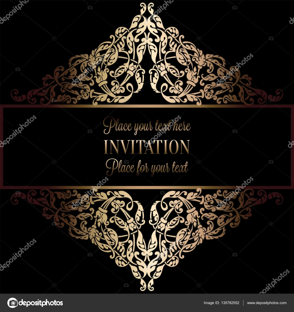 Abstract background with antique luxury black and gold - Tapete schwarz gold ...
