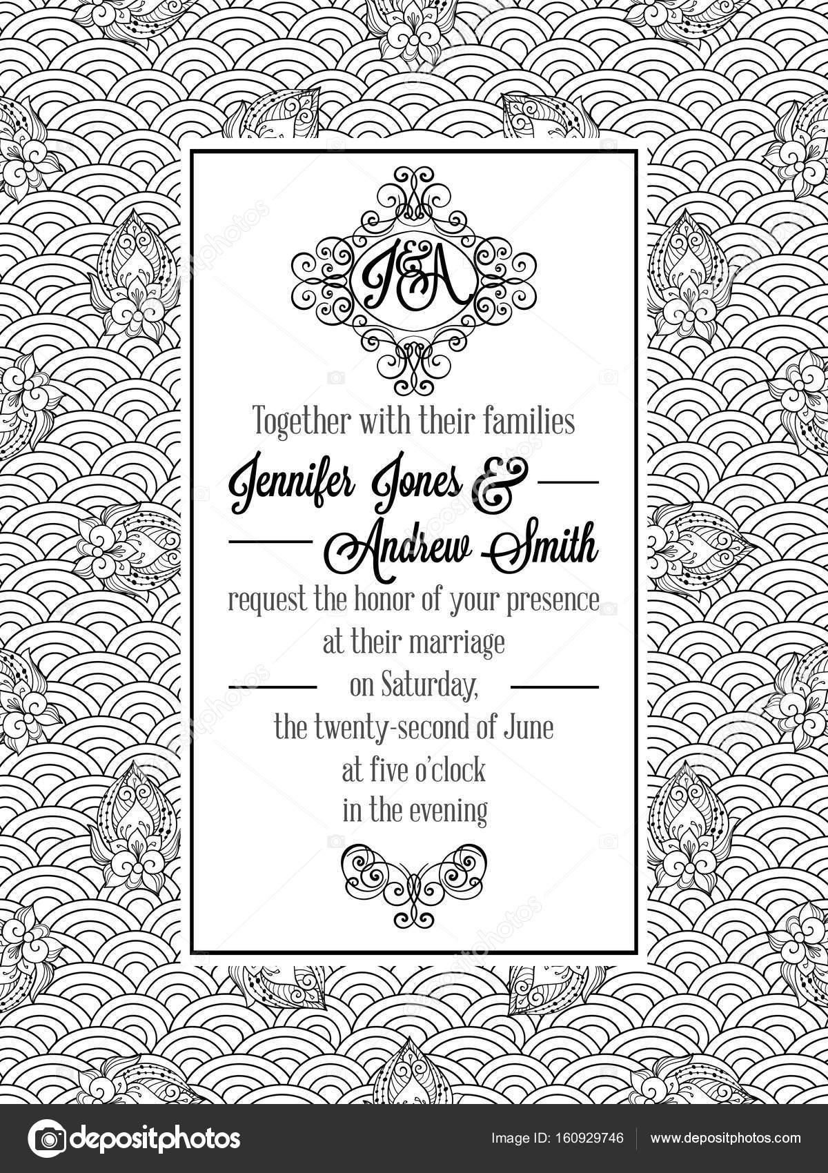 Imágenes Invitacion Formal Tarjeta De Invitación Formal