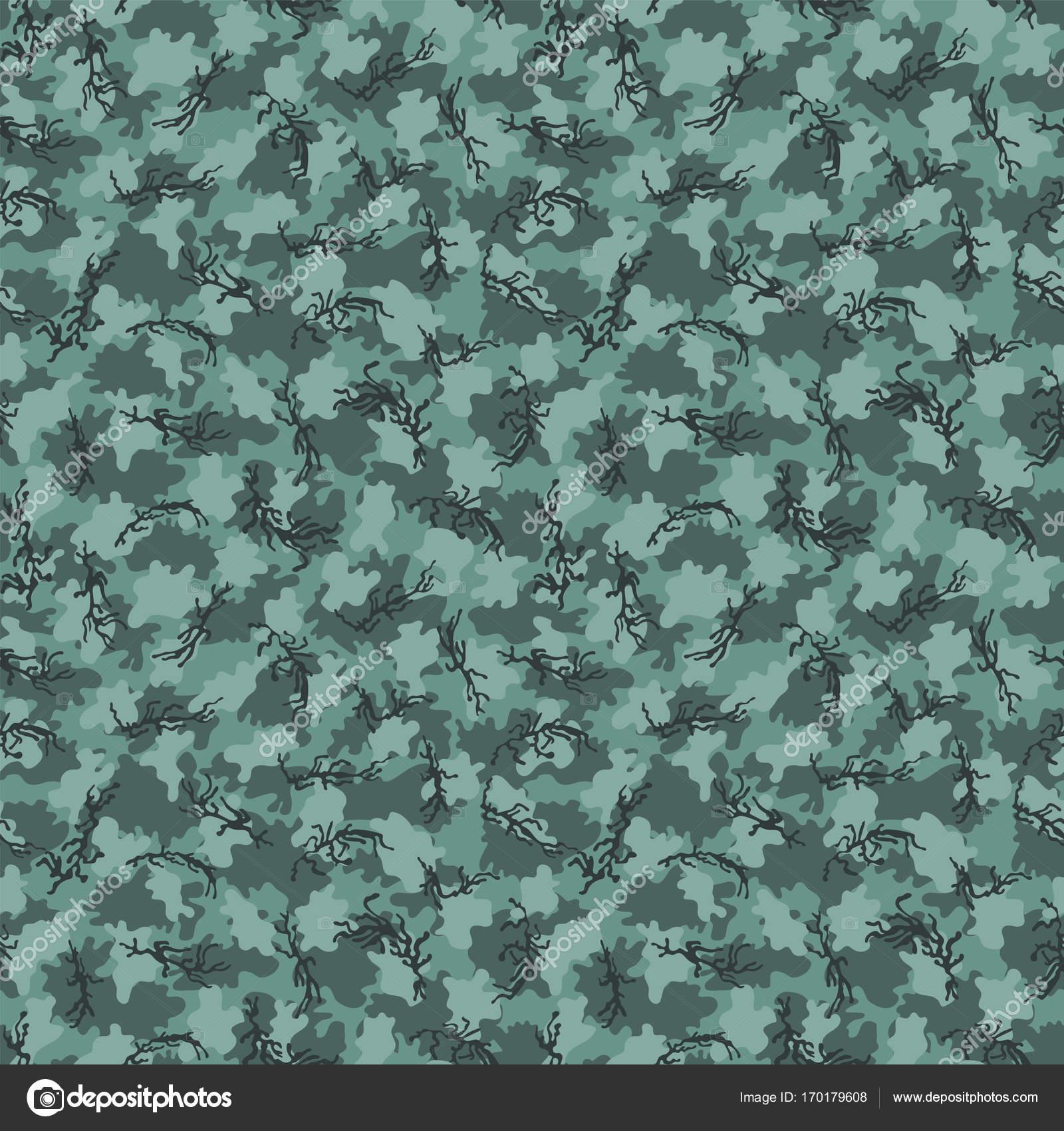Camouflage-Muster Hintergrund nahtloser Vektor-Illustration ...