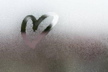 Draw the heart on vapor