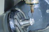 Fotografie die Tisch-Neigungs-CNC-Fräsmaschine Typ 5