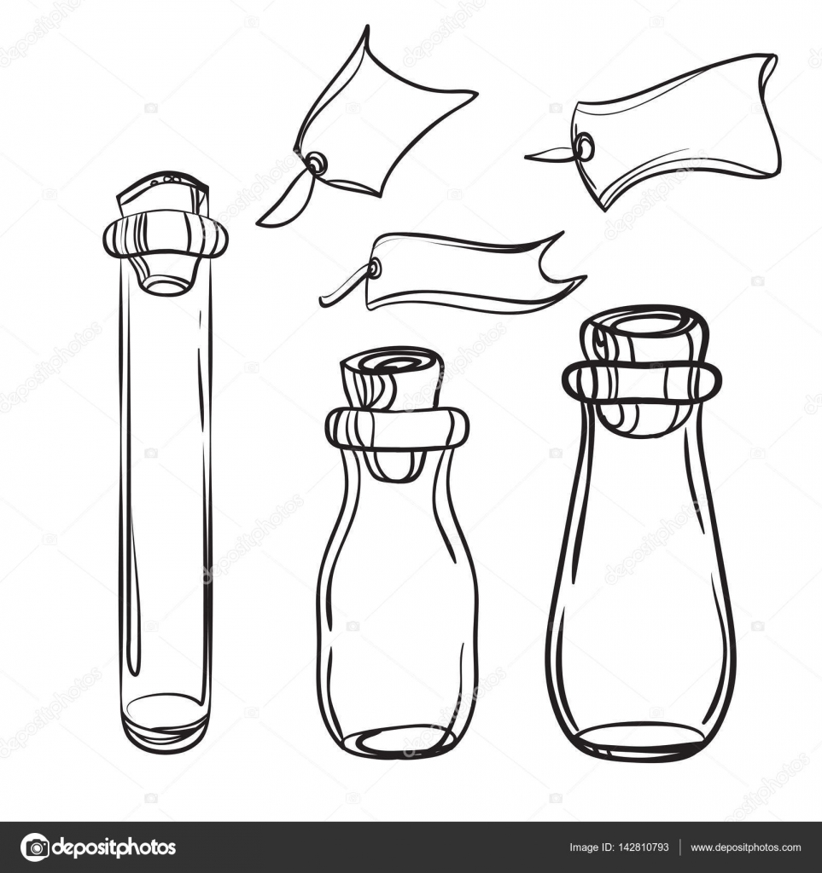 malvorlagen flaschen und gläser  coloring and malvorlagan