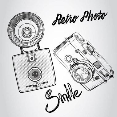 retro photo cameras