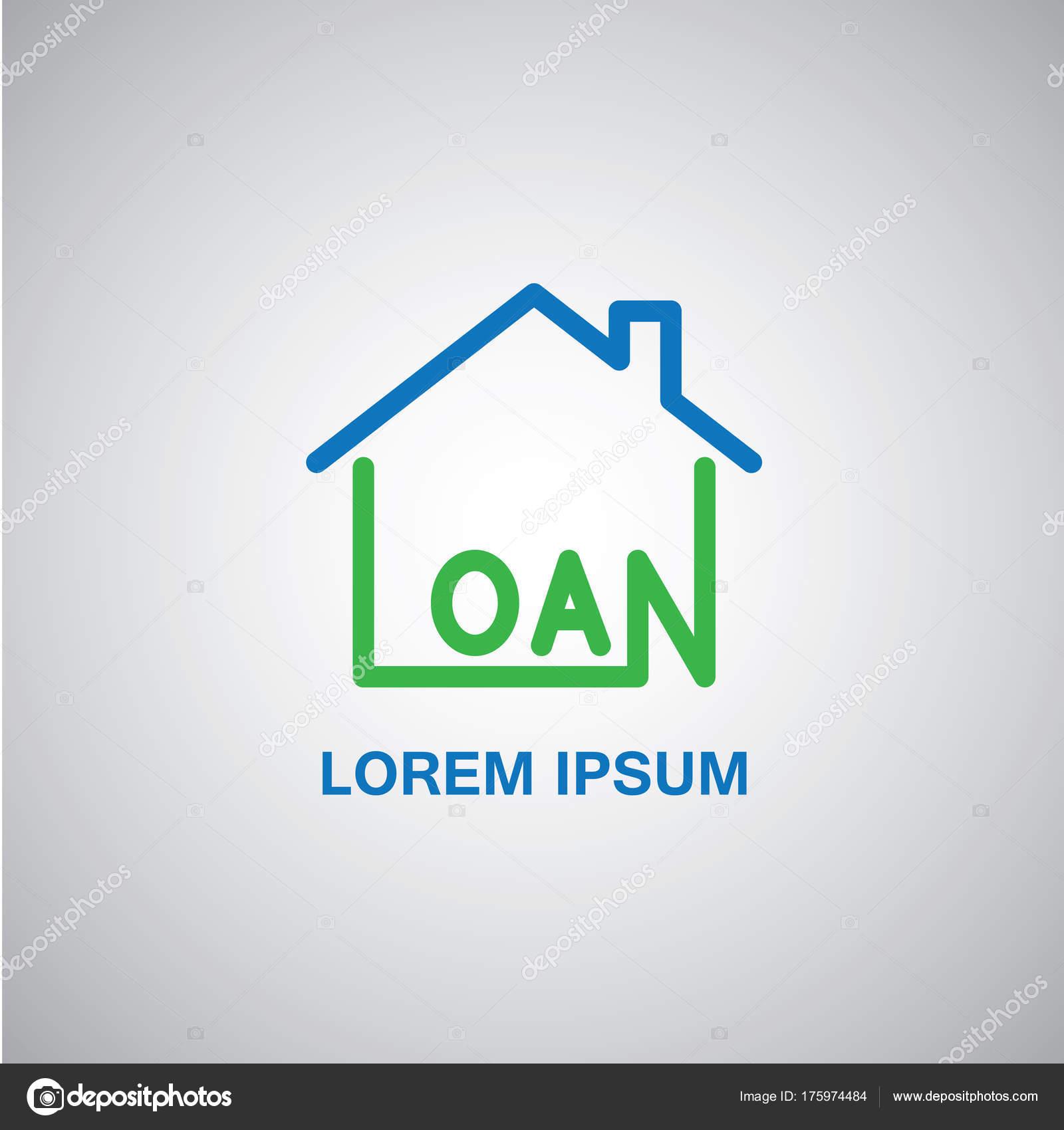 Images: loan logo | House Home Financial Loan Logo Graphic ...