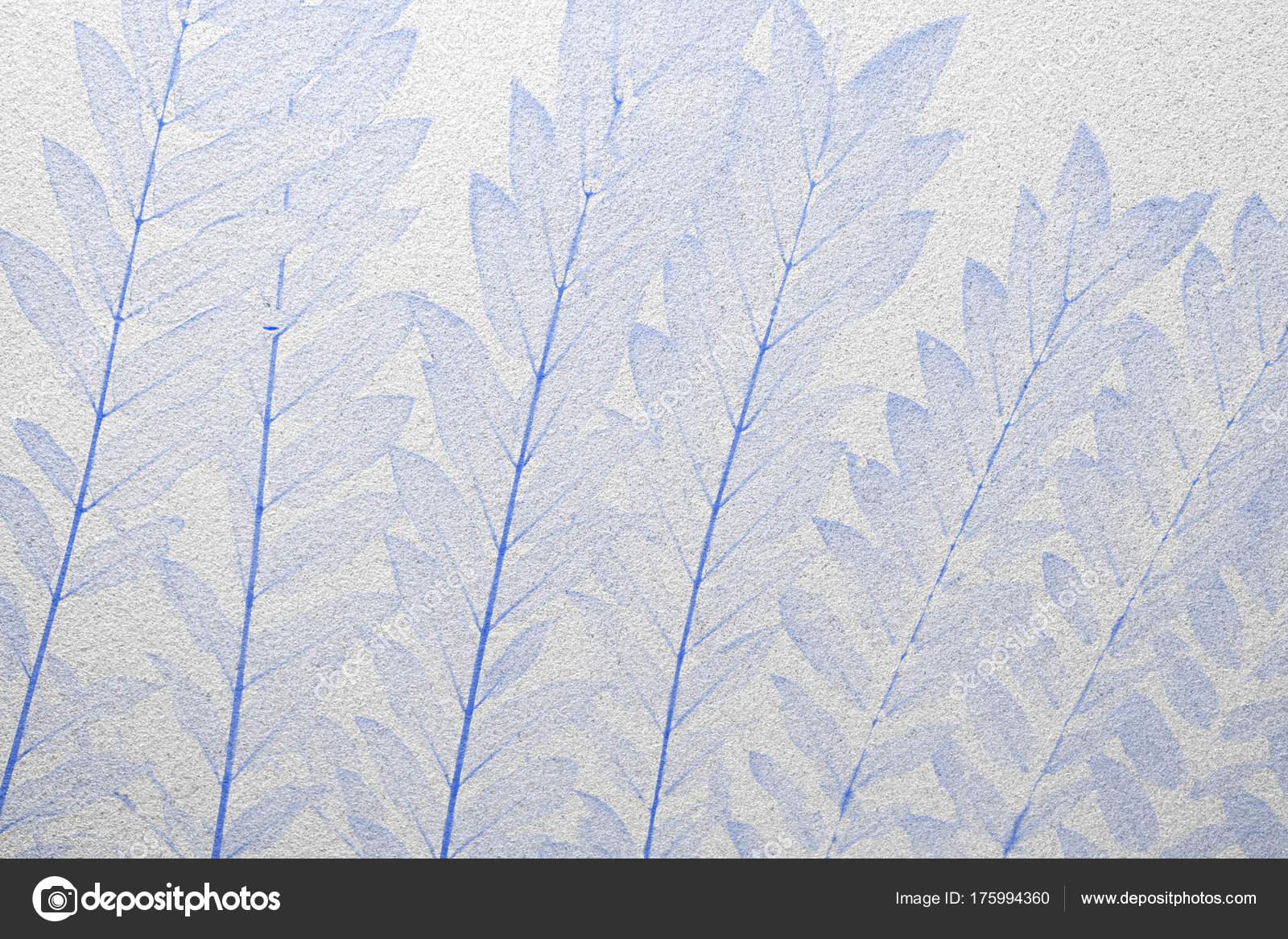 Blaue Blätter Frosted Glastextur Als Hintergrund Innenarchitektur ...