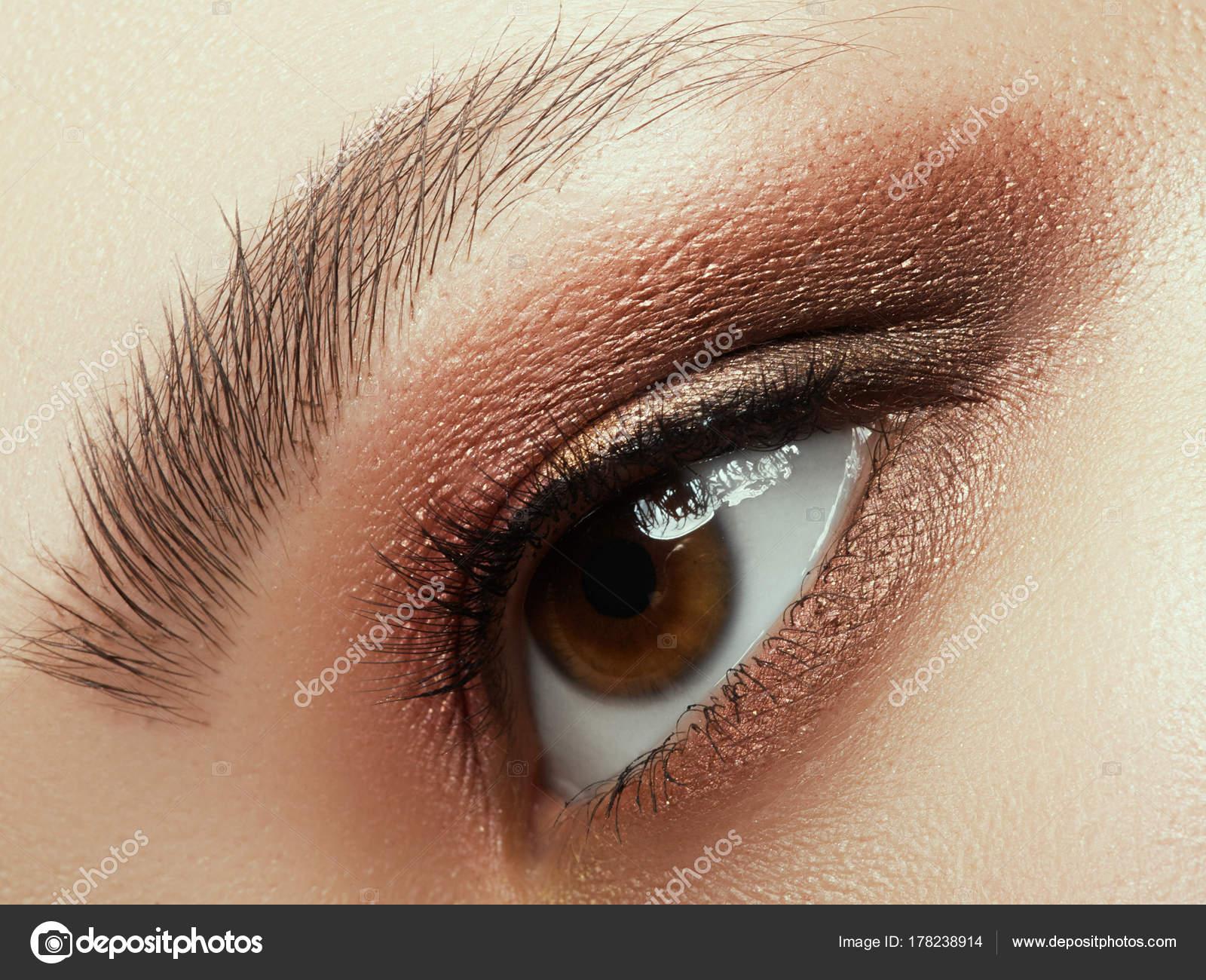 dress - Makeup eye Smokey close up pictures video