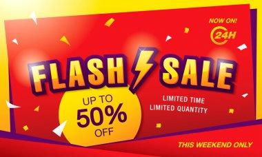 flash sale  banner template