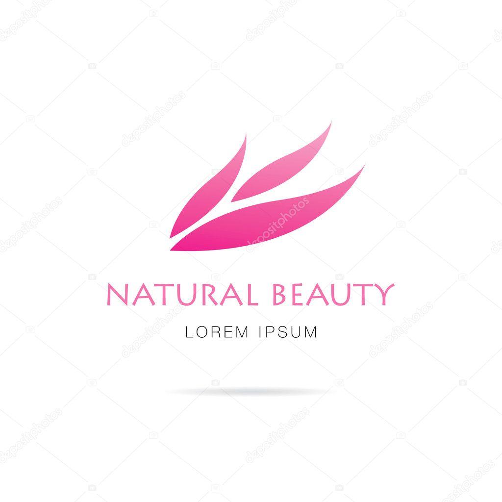 natural beauty logo design � stock vector 169 igorvkv
