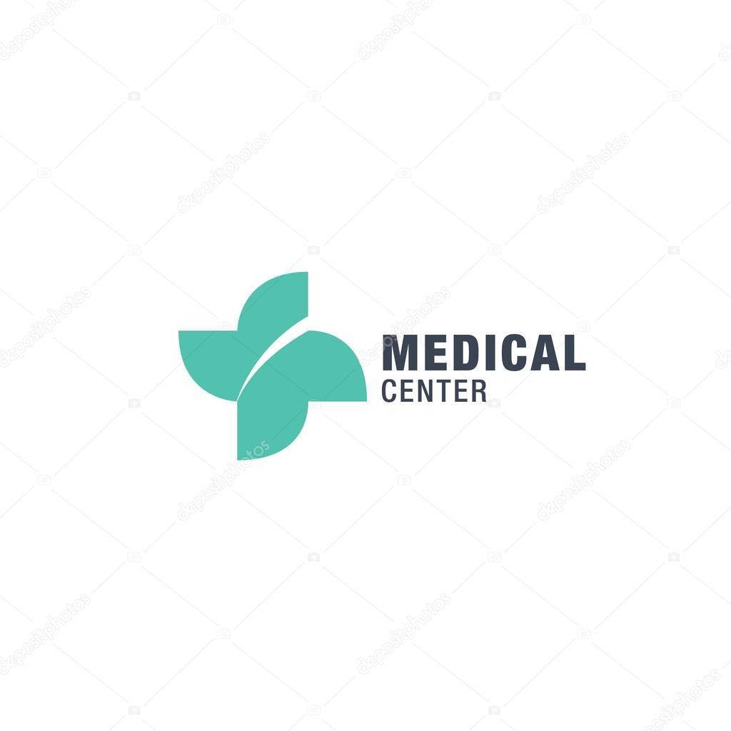 Medical center logo design